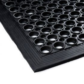 Ringmat 90 x 150 cm - Met rand